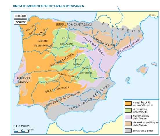 Font: Geografia. Batxillerat. Vicens Vives. Edició 2014.
