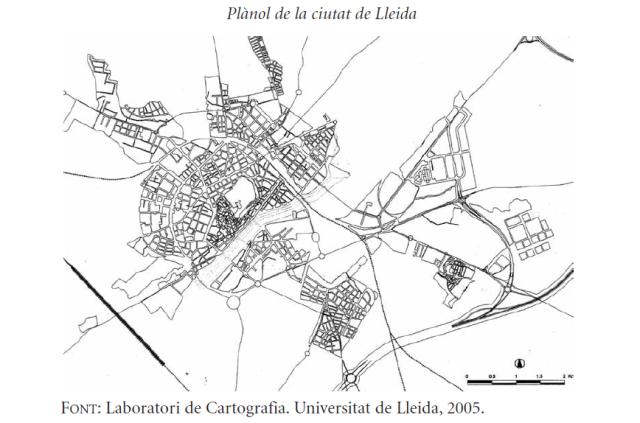 Plano de Lleida